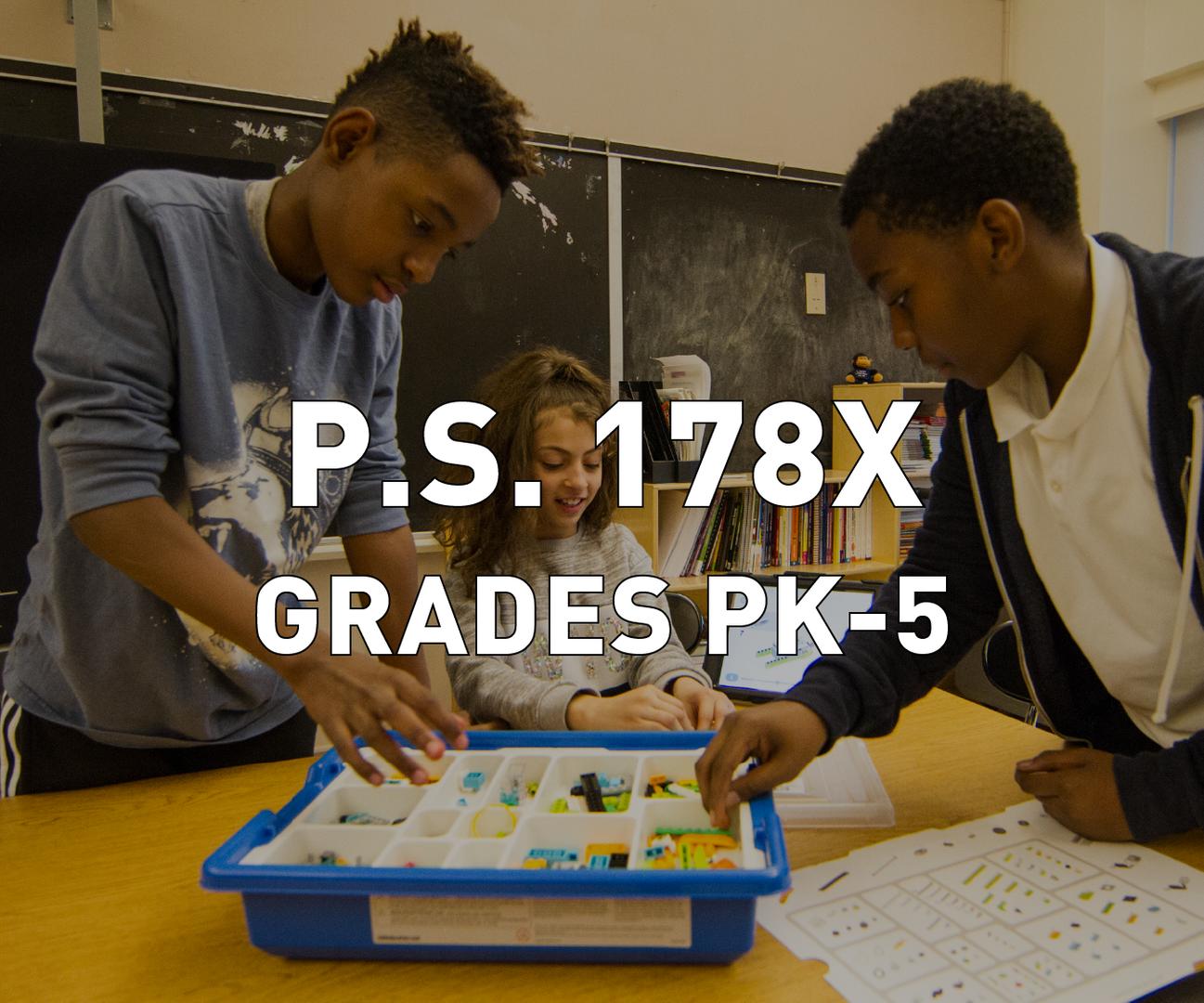 P.S. 178X Grades PK-5