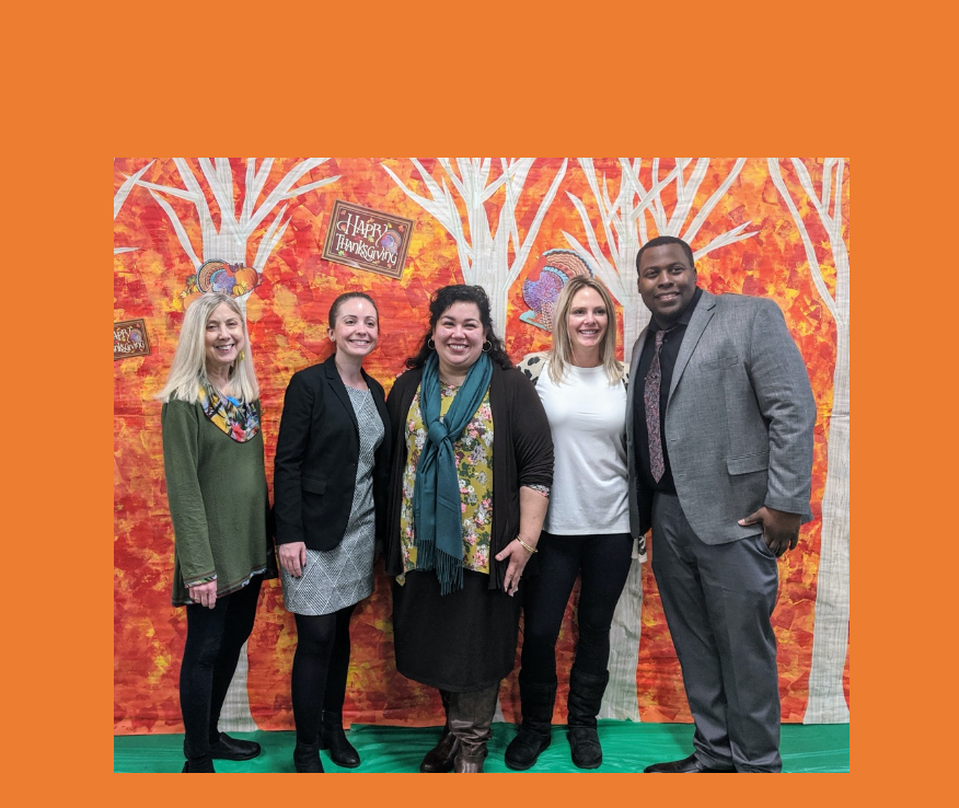 P811Q Administrative Team by Fall photo wall