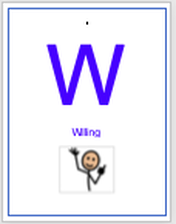 W is for Willing