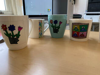 Mugs made by students