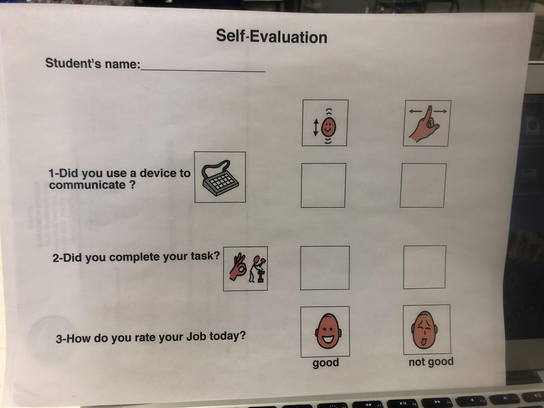 Job Self-Assessment Simple