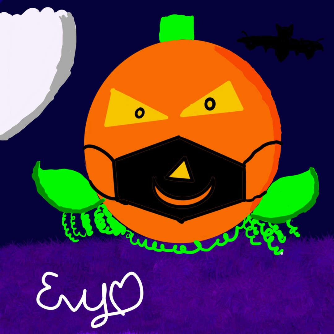 """<img src=""""pumpkin.png"""" alt=""""pumpkin with mask"""">"""