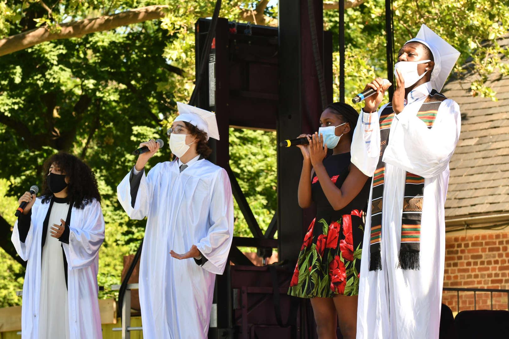 Gospel Choir Performing