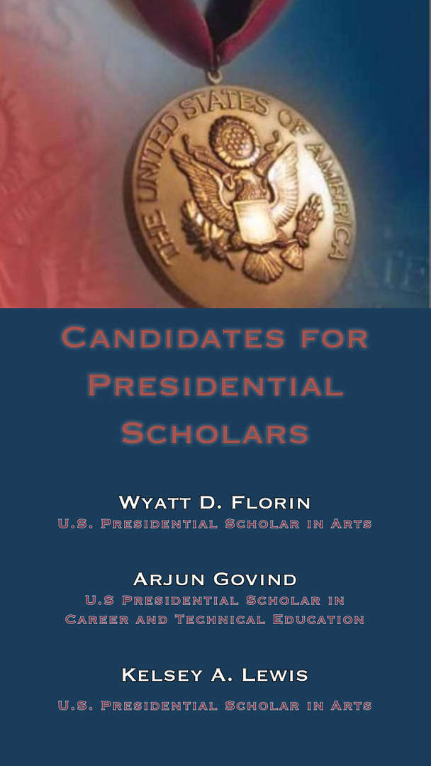 Presidential Scholar Candidates