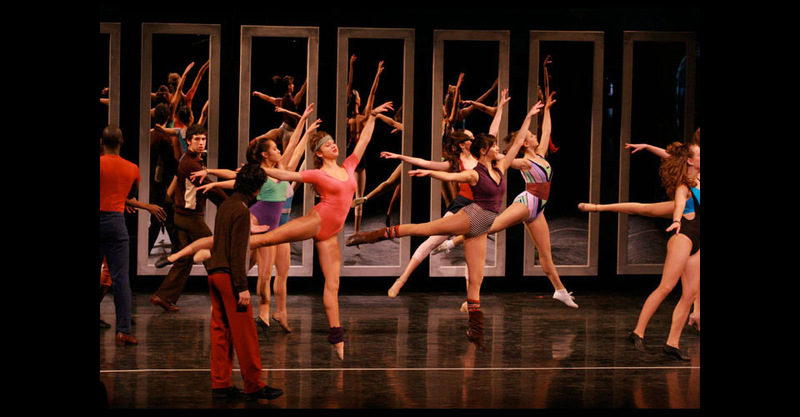 Female dancers in opening number