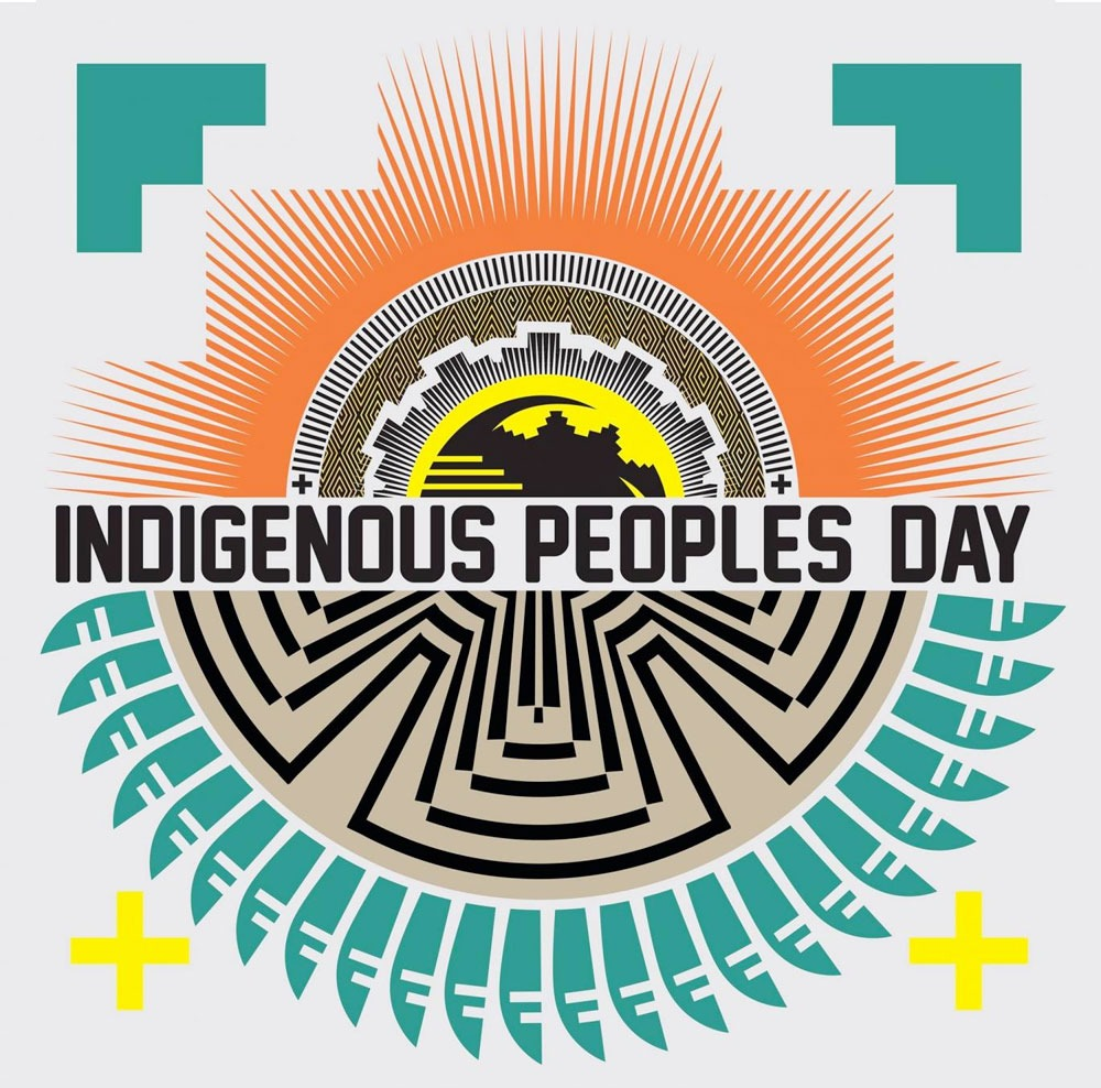 Indigenous American Day Logo