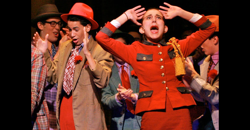 Singer in GUYS and DOLLS