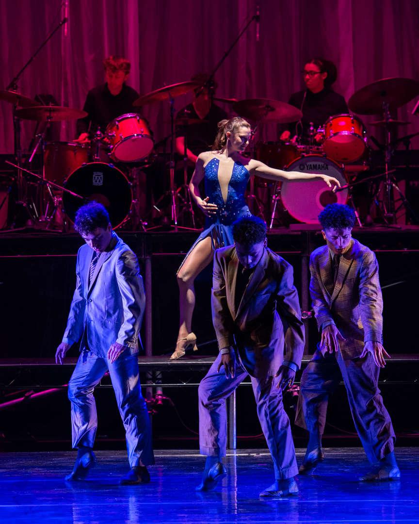 Dancers performing Sing Sing Sing
