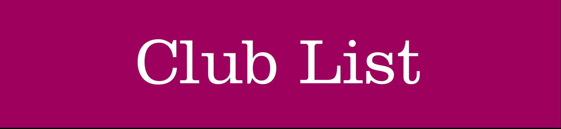 Club List Header