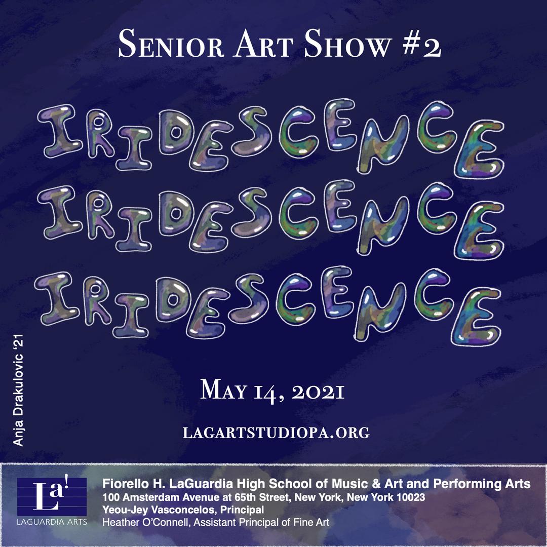 Senior Art Show #2 poster