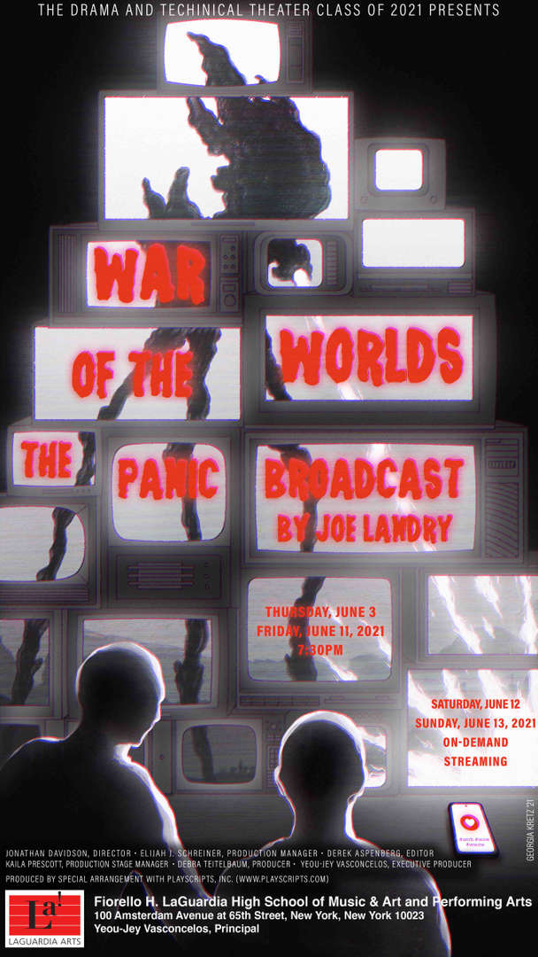 War of the Worlds Drama Poster