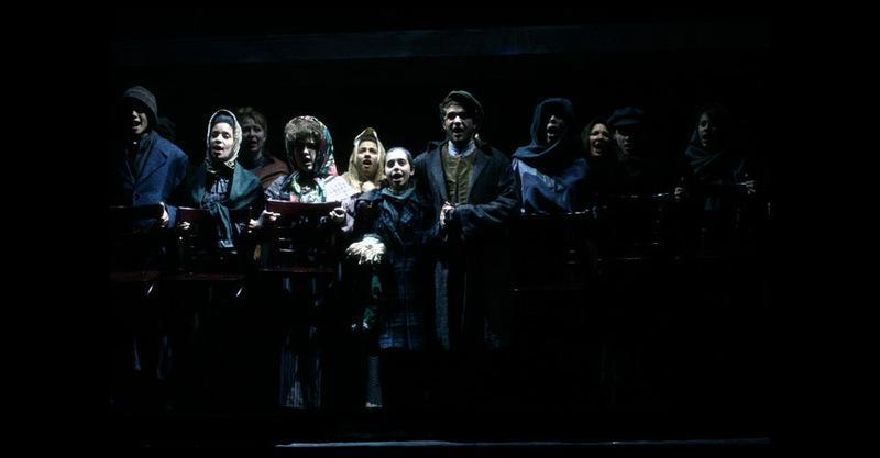 """The ensemble performs """"A Shtetl iz Amereke"""""""