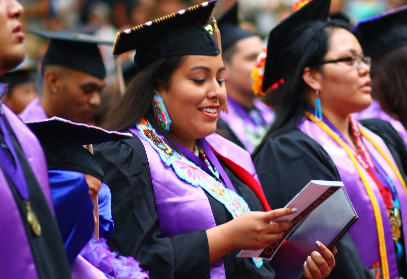 Indigenous American in Higher Education Graduation Ceremony