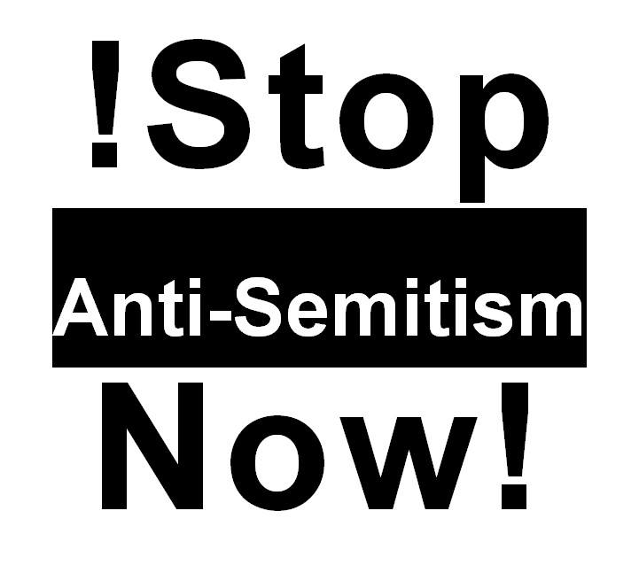 Stop Antisemitism poster