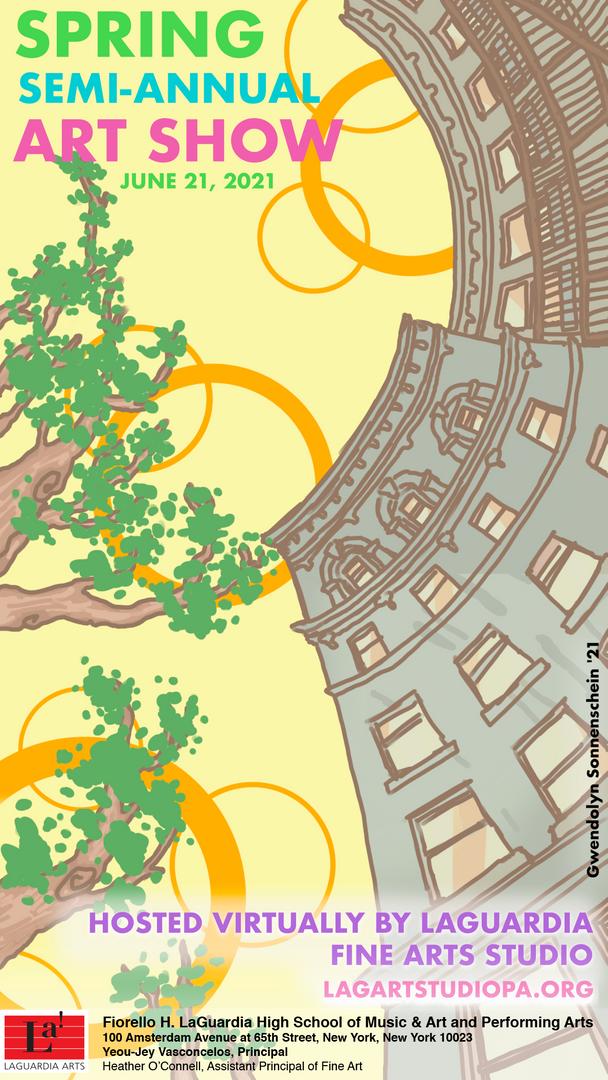 Art Spring Semi Annual Poster