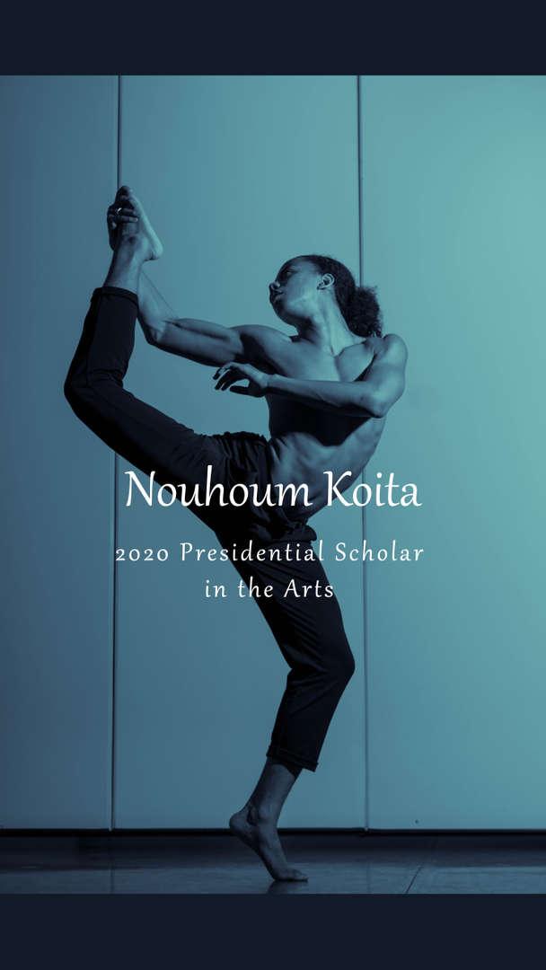 Presidential Scholar in the Arts Dancer
