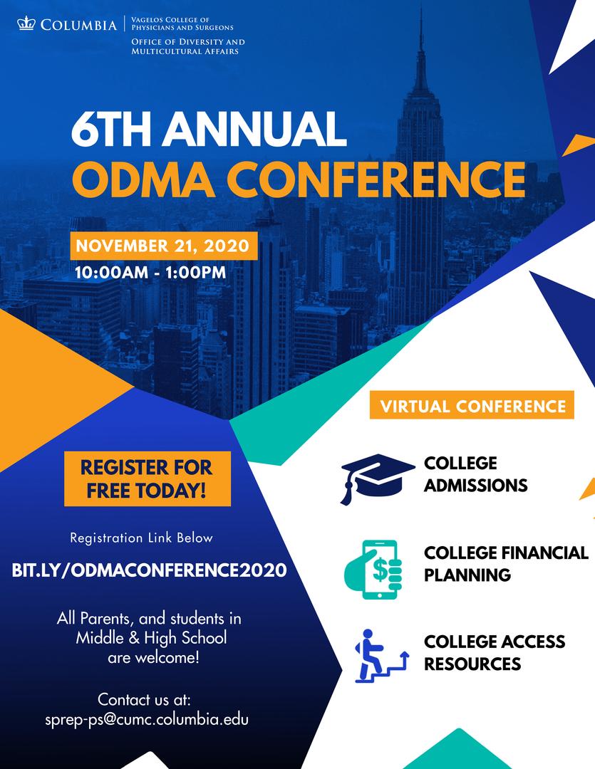 Columbia University Diversity Conference Flier