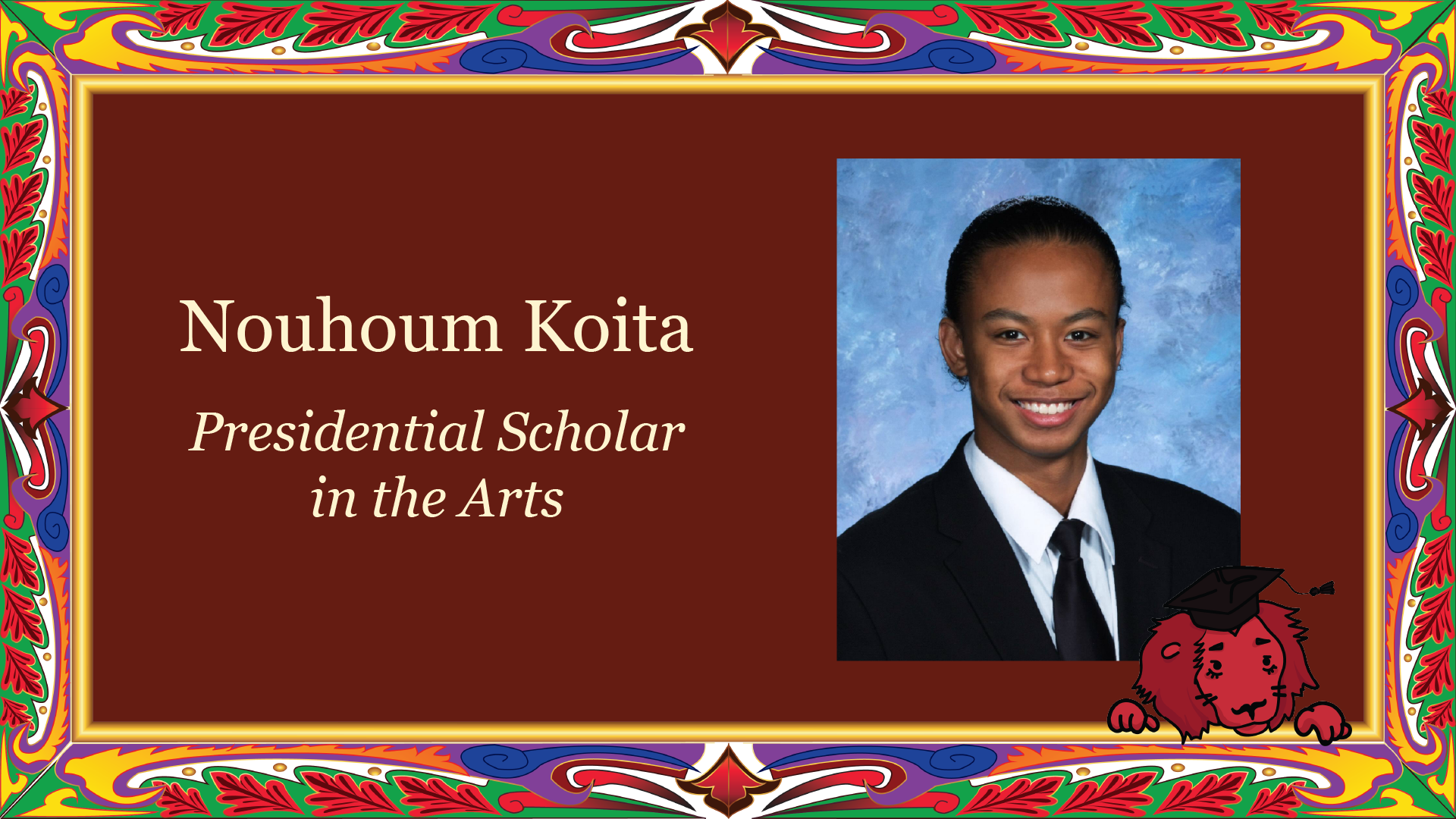 Presidential Scholar in the Arts