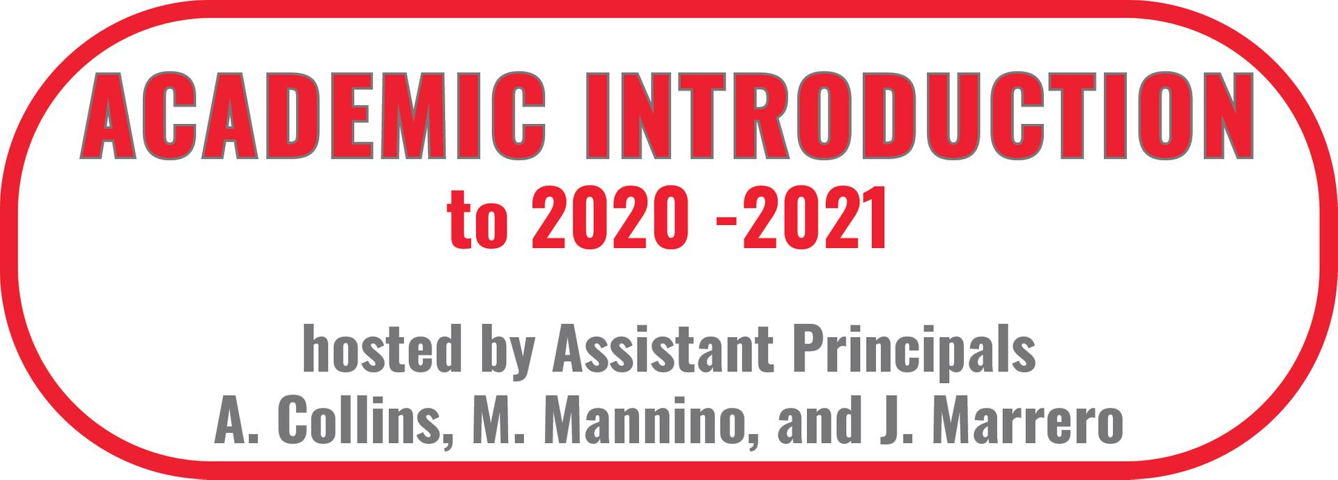 Academic Introduction Main Slide