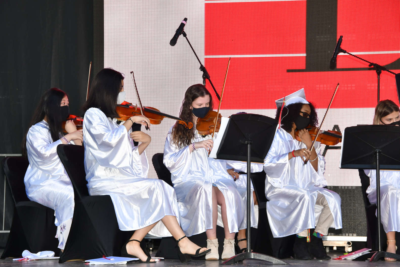 Strings Ensemble performing