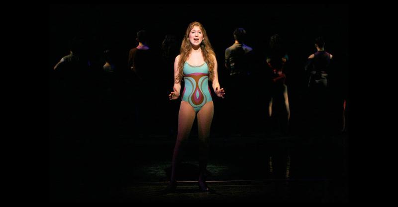 "Sheila singing ""At the Ballet"""
