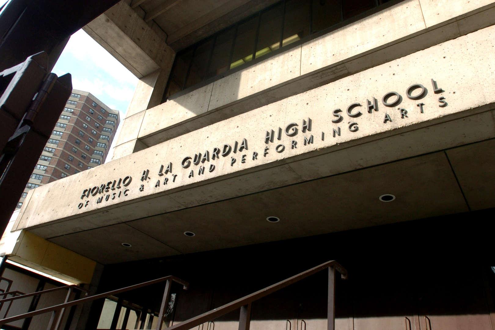 Facade of school