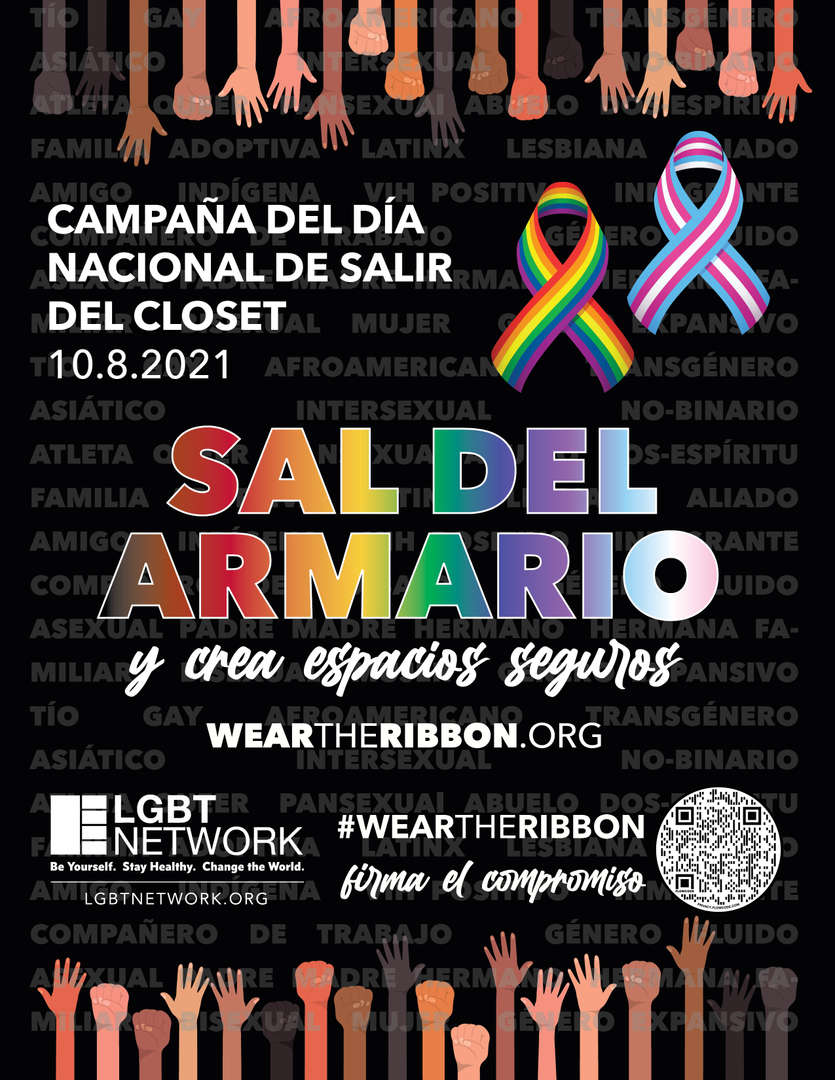 Spanish language Come Out For Safe Spaces Information