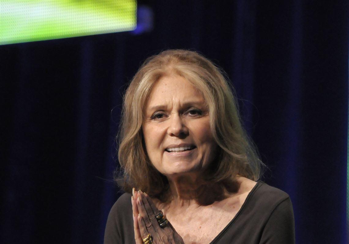 Gloria Steinem picture.