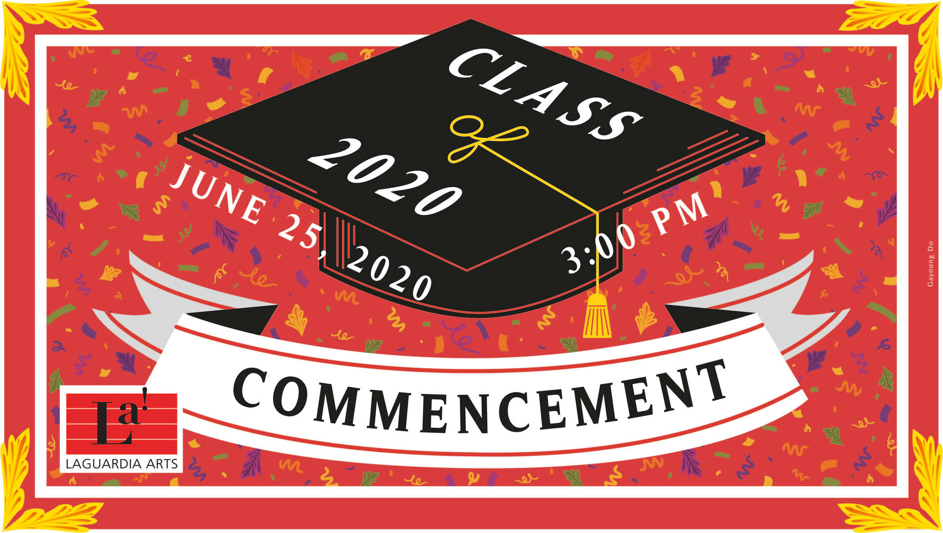 Commencement Cover Design