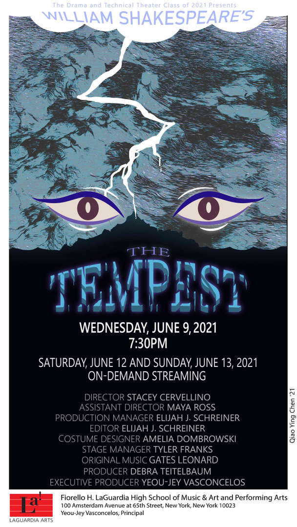 The Tempest Drama Poster