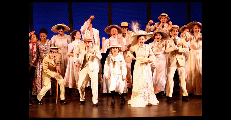 Opening Number depicting upper-class white family from New Rochelle