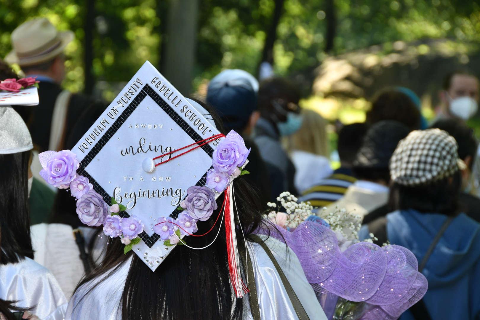 decorated cap