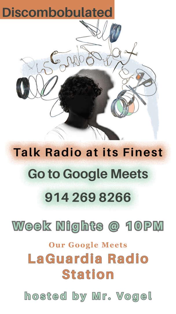 Discombobulated Radio Show Poster