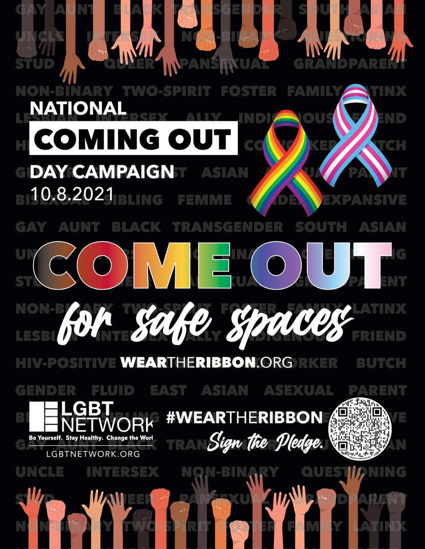 Come Out For Safe Spaces Information