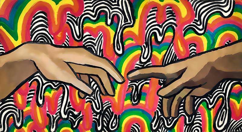 "Paula Kupin artwork ""Creation of Unity"""
