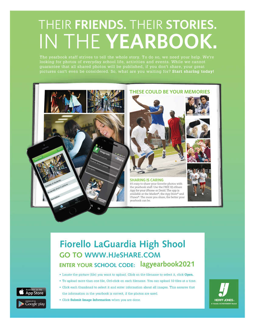 Yearbook eshare flier