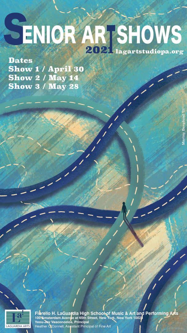 Senior Art Show Poster