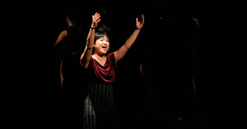 """Connie Wong singing """"At the Ballet"""""""