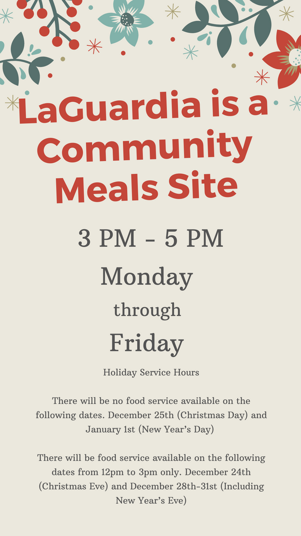Meals Site Hours Poster