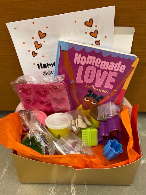 The Homemade Love Sensory Kit invites children to bake playdough treats and engage in sensory play.