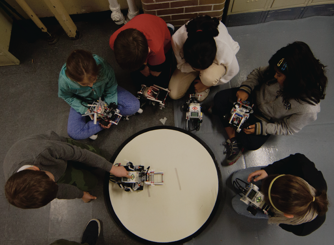 FaceLab - robots!