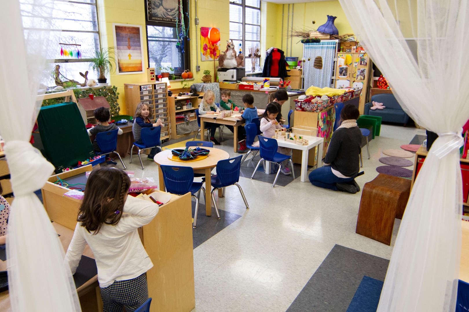 Kids classroom at K280