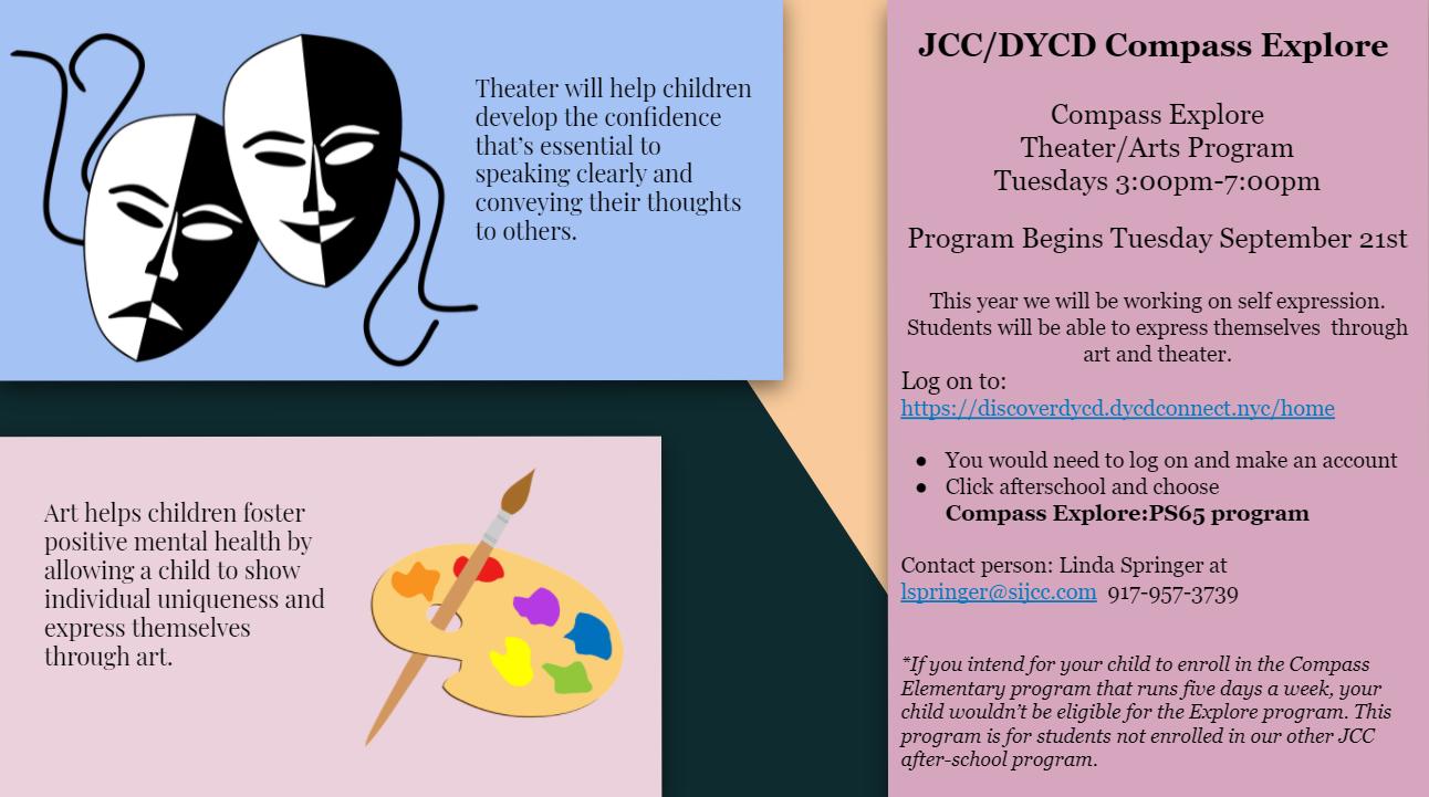 JCC Theatre Flier