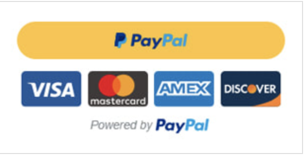 PayPal account button