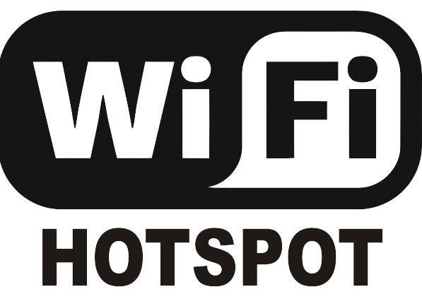 Wifi Hotspot sign