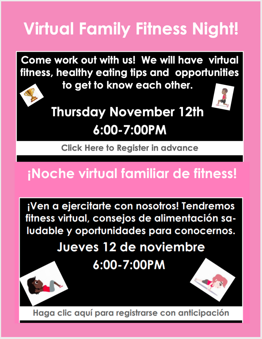 Virtual Family Fitness Night