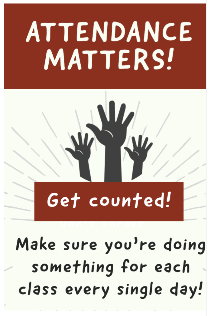 Attendance Matters: Get Counted