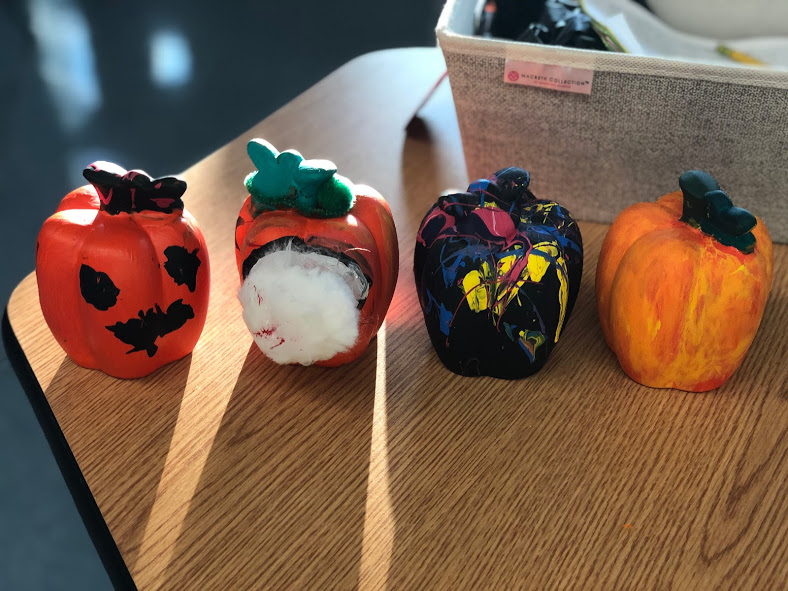 Pumpkins from Morning Meeting