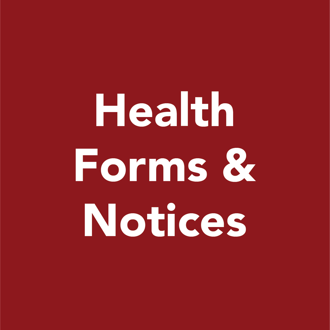 Health forms and notices