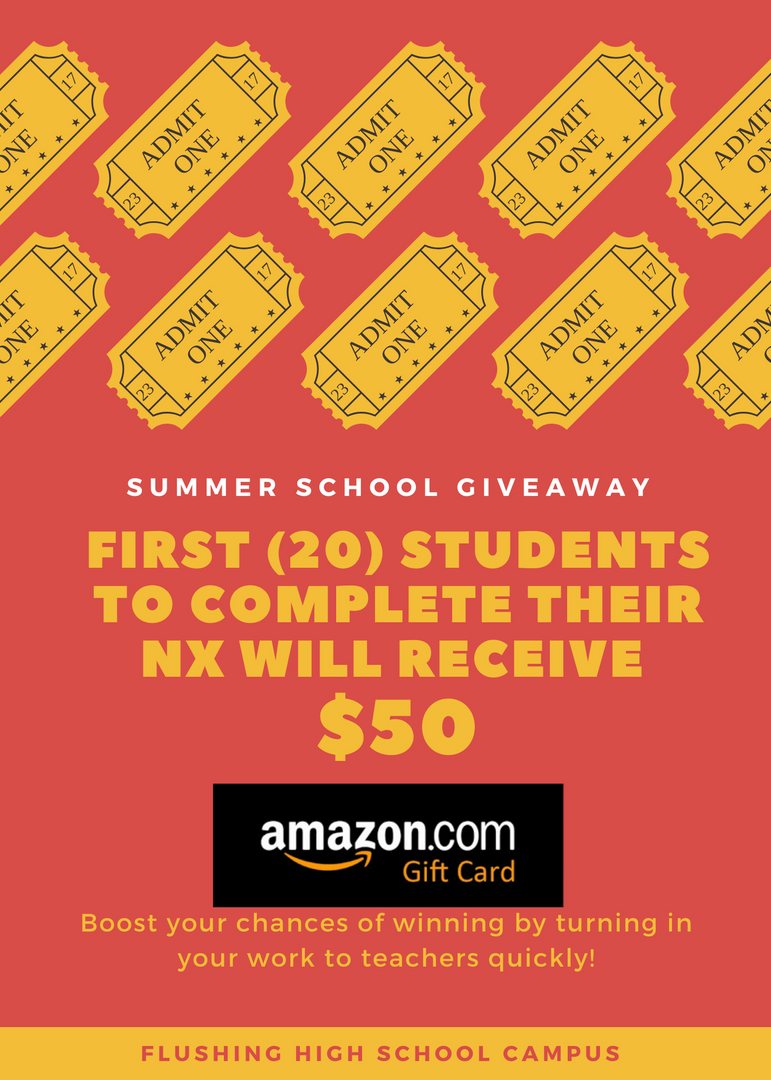student incentive  flyer